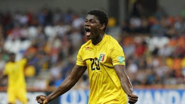 joueur footballeur malien aiglon cadet junior qualifie coupe monde koita