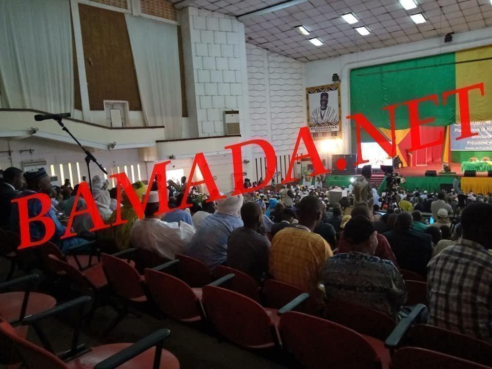 dialogue inclusif malien palais culture reunion