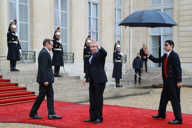 le president russe a son arrivee a l elysee le 11 novembre 2 4576029