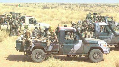 patrouille mixte nord armee malienne fama soldat militaire combattant touareg mnla cma plateforme gatia centre foret e1609669496260