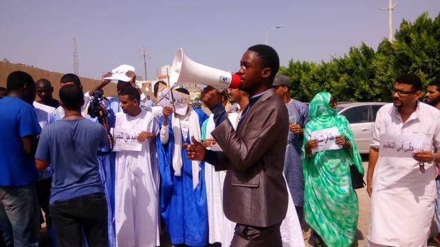 201911mena mauritania protests