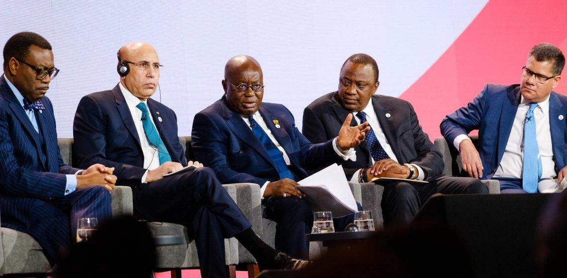 Ghazouani Londres UK Africa Investment Summit
