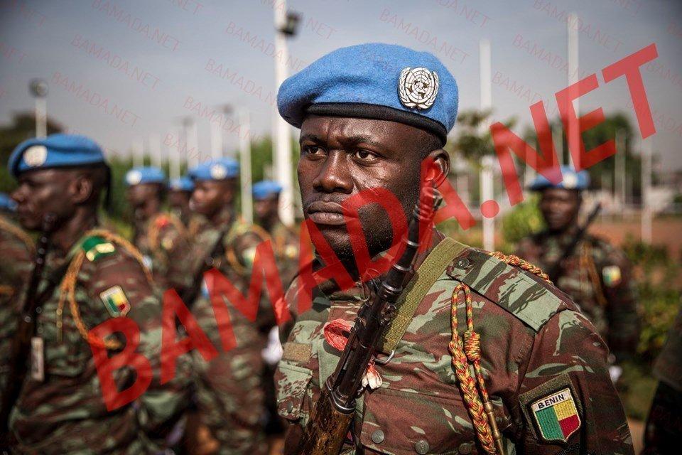 caporal sedewuignan Kossi agounwadje contingent togolais minusma soldat armee militaire tue mort hommage casque bleu medaille ceremonie