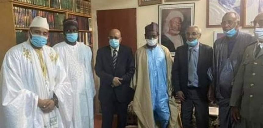 condoleances le president mauritanien a depeche une delegation a medina baye 1532895