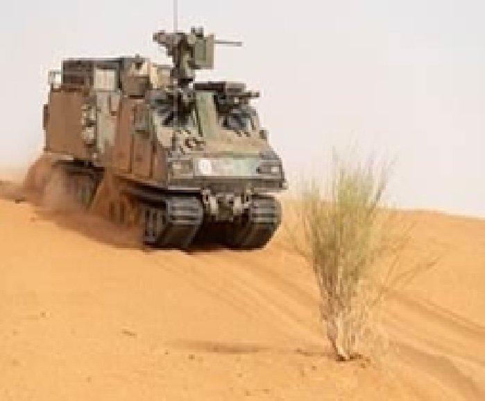 Le groupement tactique désert Bruno en action dans le Gourma
