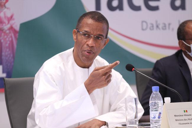 Alioune NDOYE Ministre des peches et de lEconomie Maritine