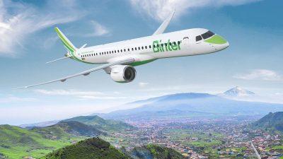 Binter Canarias Embraer E195 E2 e1612288307304