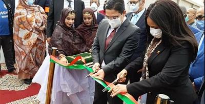 Dakhla Bourita cérémonie douverture du Consulat 78965412