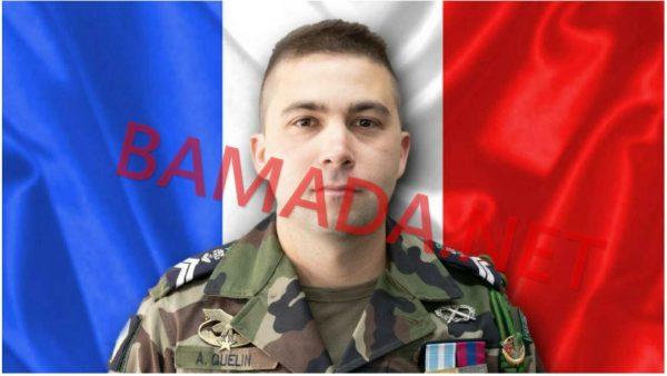 marechal logis adrien quelin mort decede militaire soldat francais force barkhane