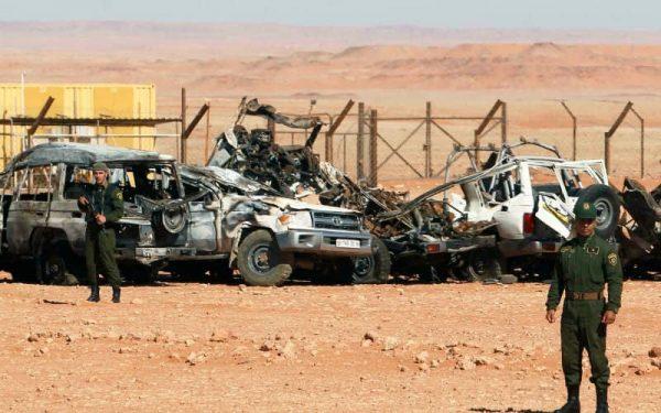 militaire algerie tue frontieres maroc
